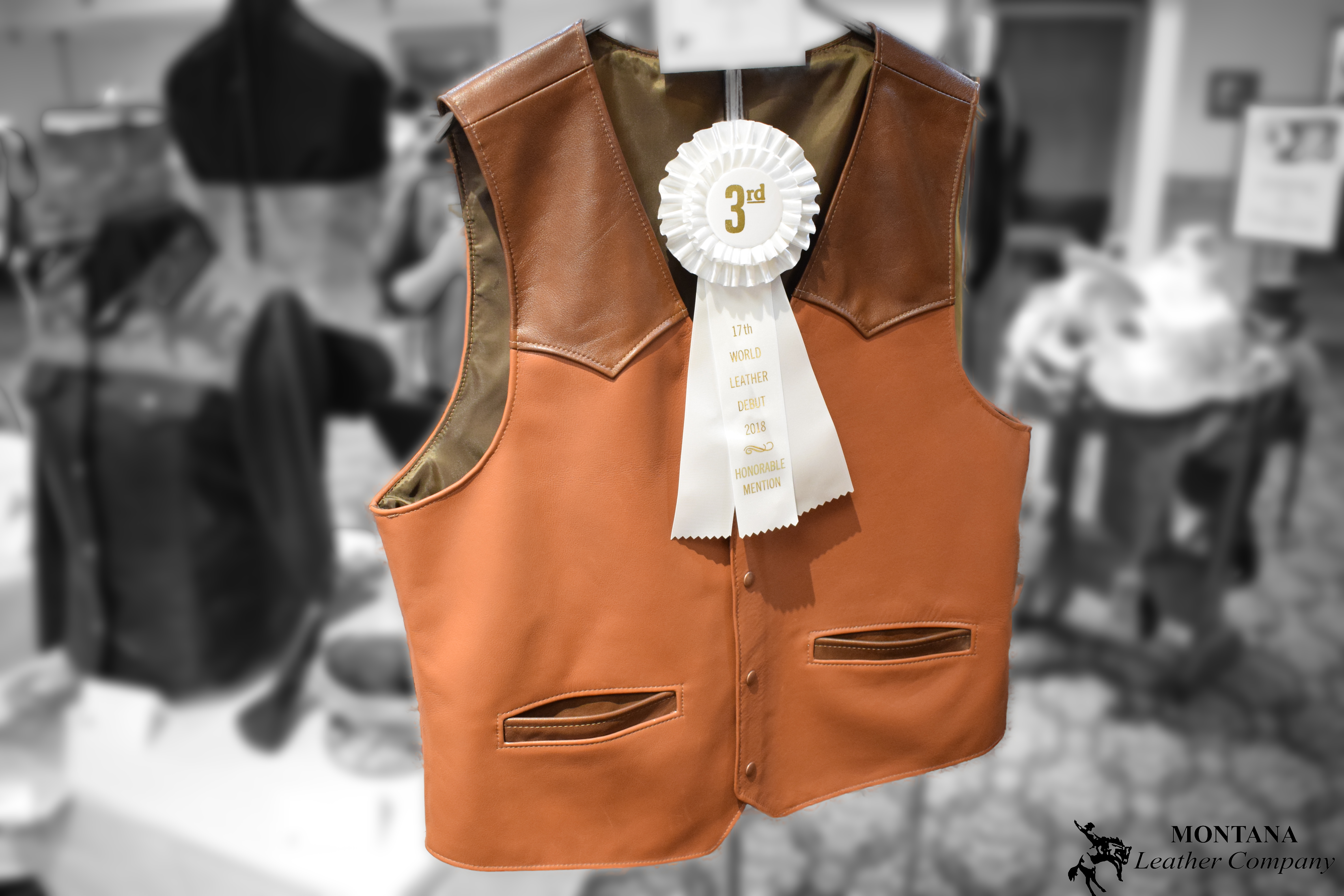 leather vest, leather clothes
