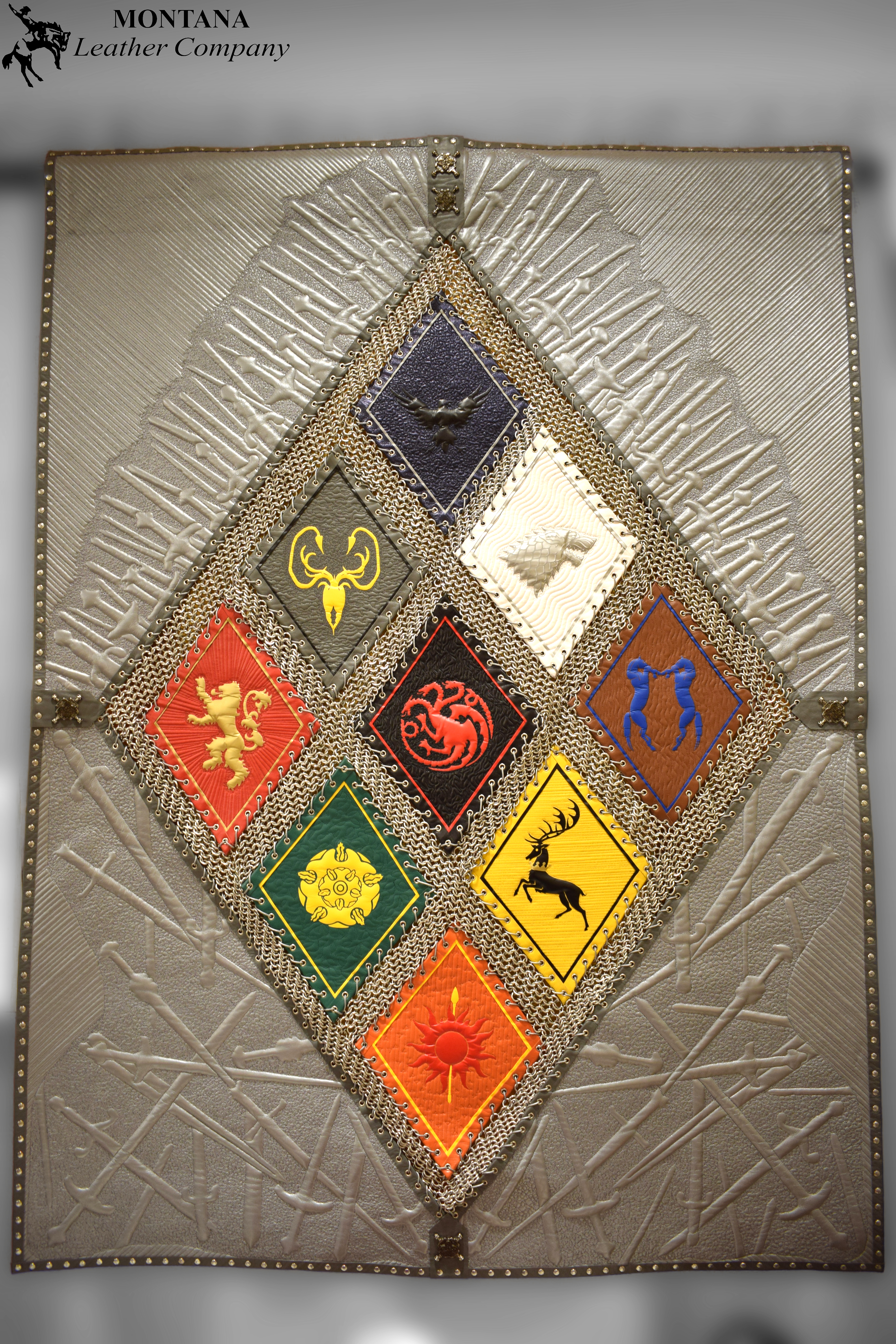 game of thrones sigils, house sigils game of thrones, leather art
