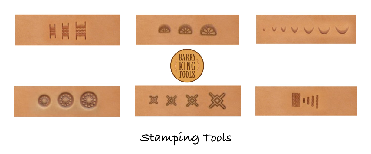 Barry King tools, leather stamping tools