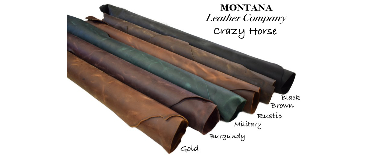 crazy horse leather, pull up leather