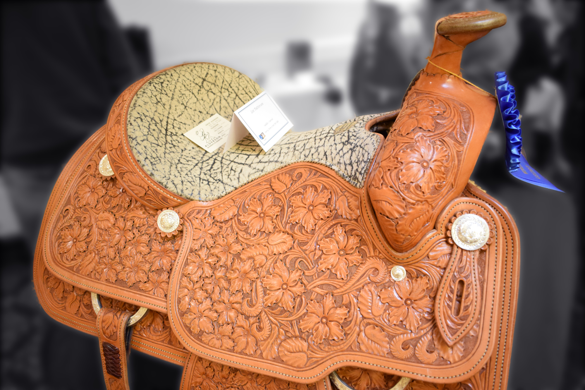 Carved Saddles - Lee Patterson