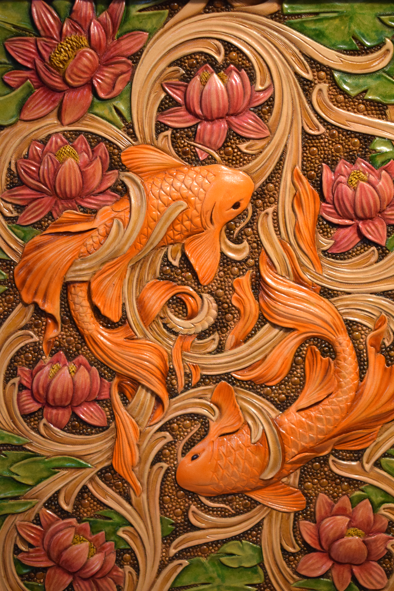 Happy Koi - Jurgen Volbach