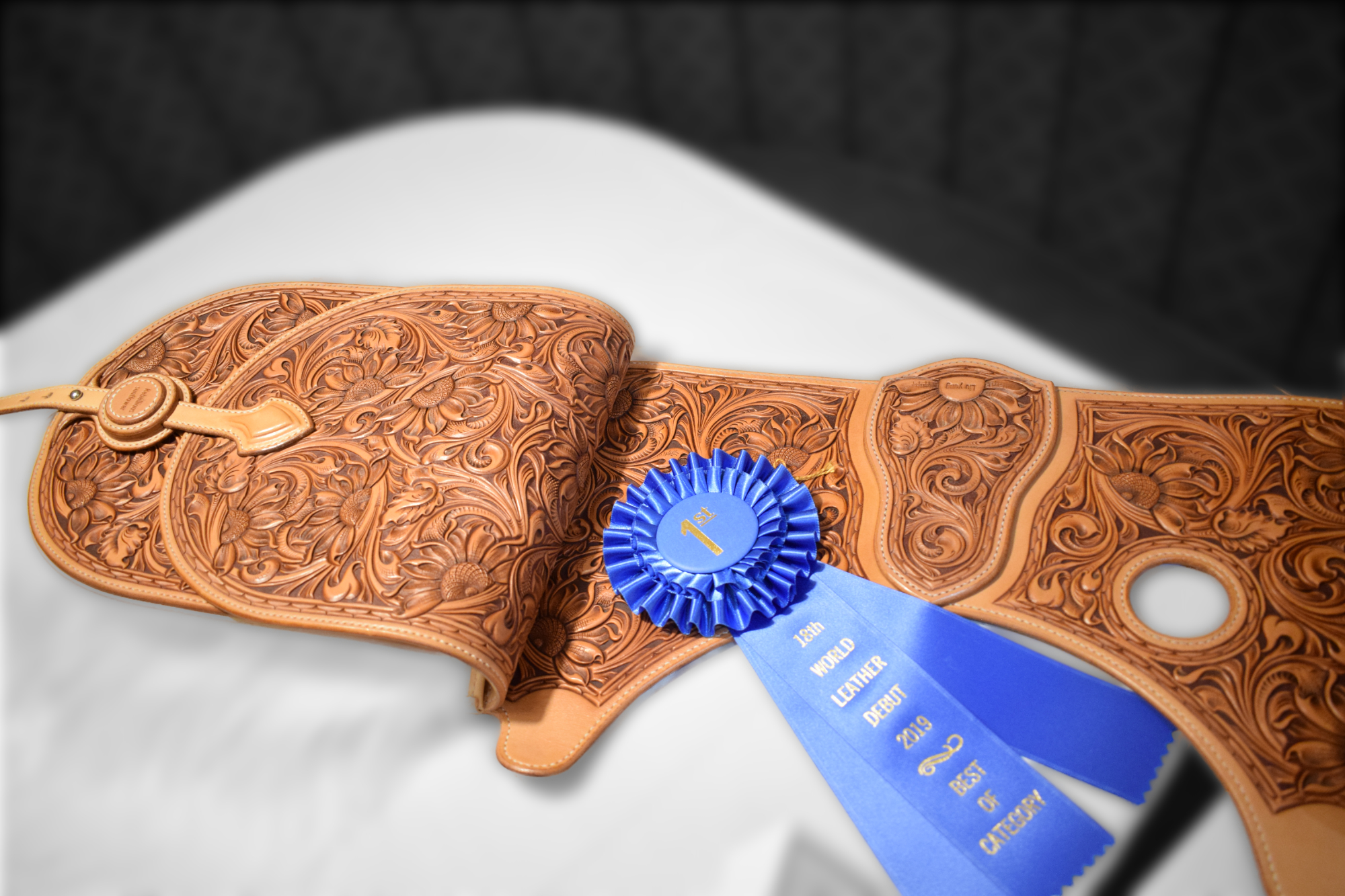 Tooled Saddle Bags - Liu Yang