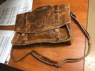 Gary's Bison Leather Bag