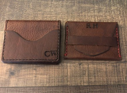 Keith's Bison Leather Wallets